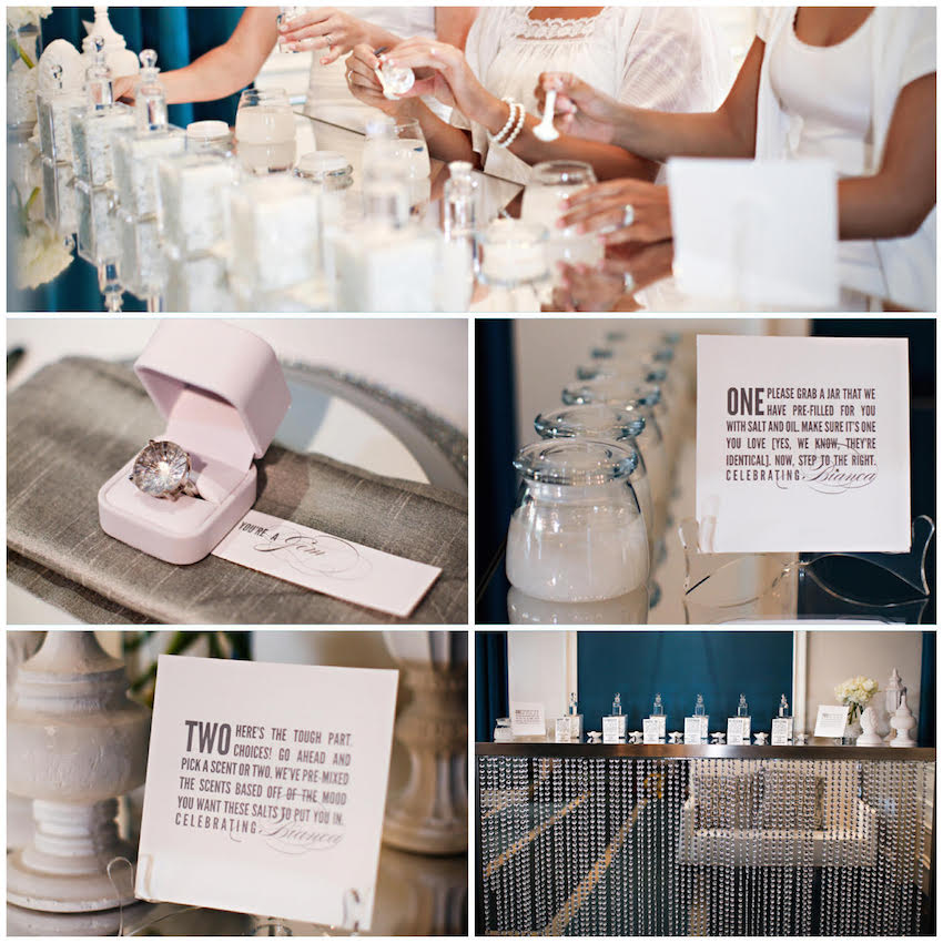 make your own perfume bridal shower