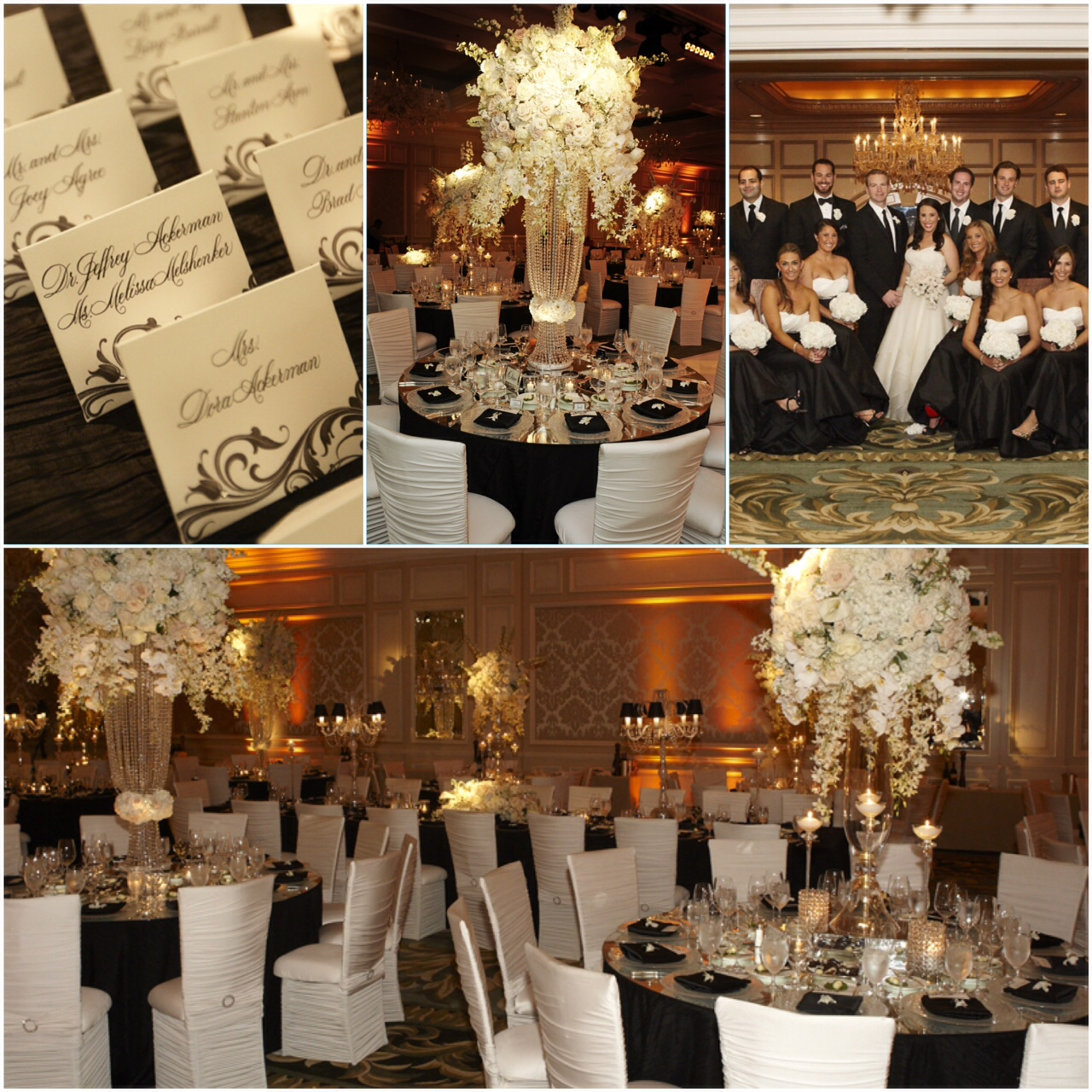 Black And White Wedding Ideas From Real Weddings Inside Weddings