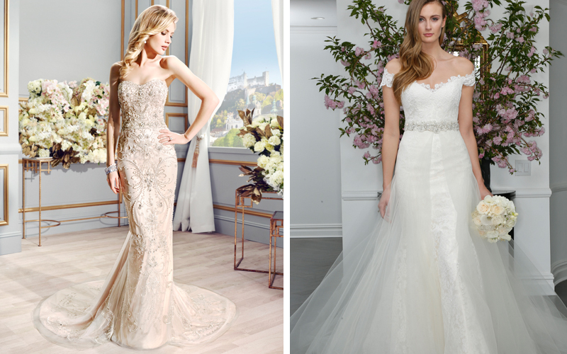Celebrity Wedding Dresses We Choose Gowns for 6 Engaged