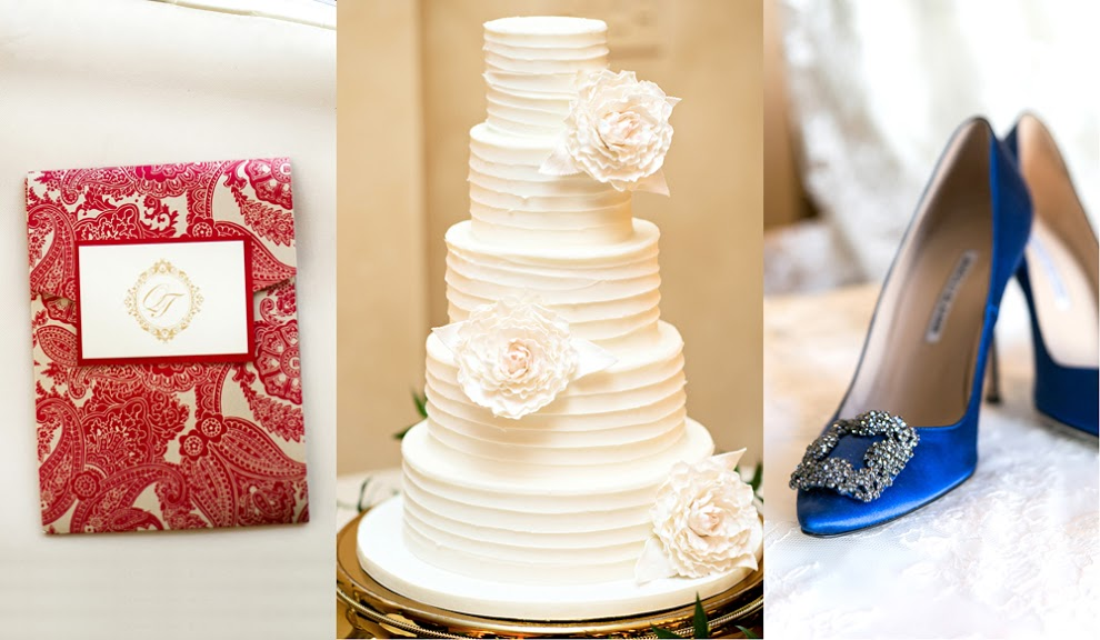 Wedding Ideas Red White Blue Color Palettes Inside Weddings