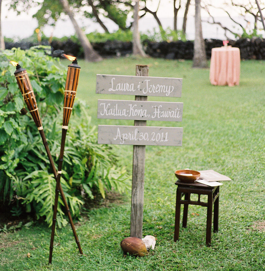 Wedding Signs, Wood Signs & Chalkboard Signs - Inside Weddings