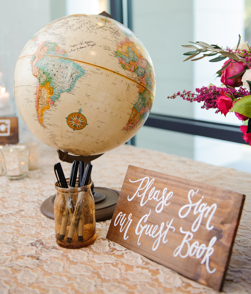 Guest Book Wood Wedding Sign