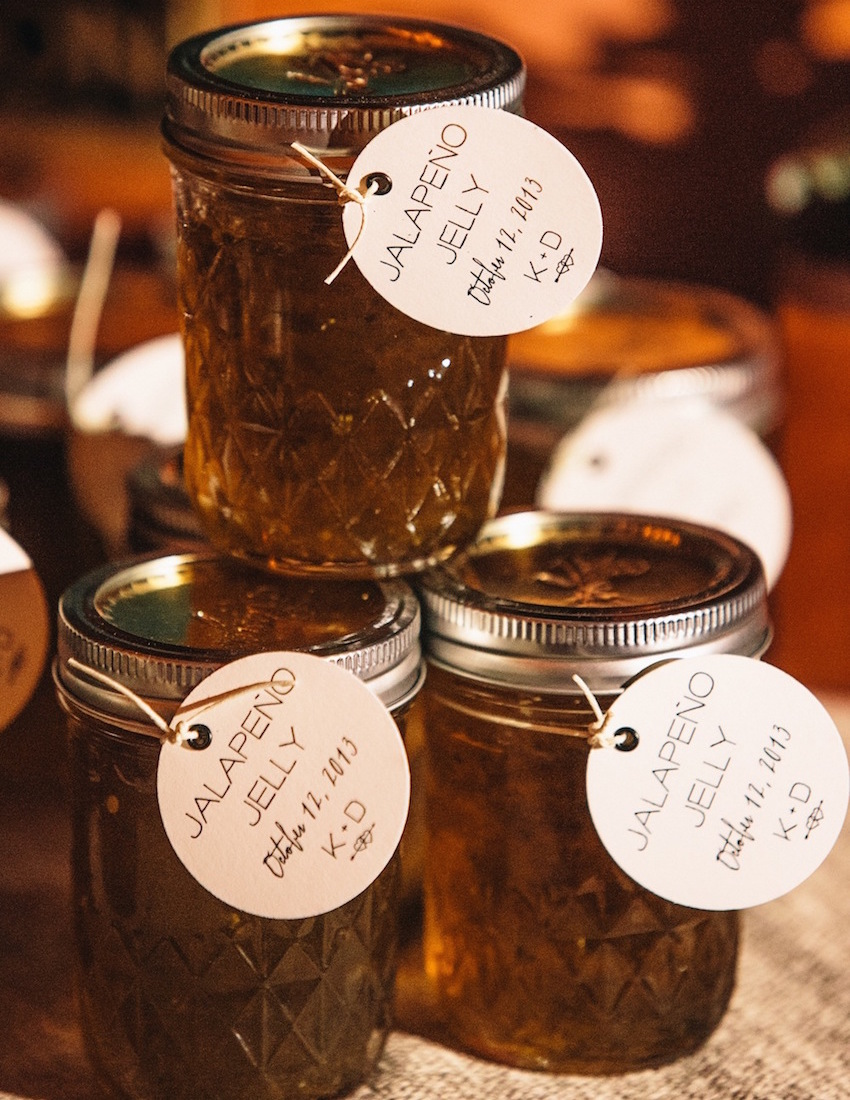 Homemade Jam Jelly Southern wedding idea