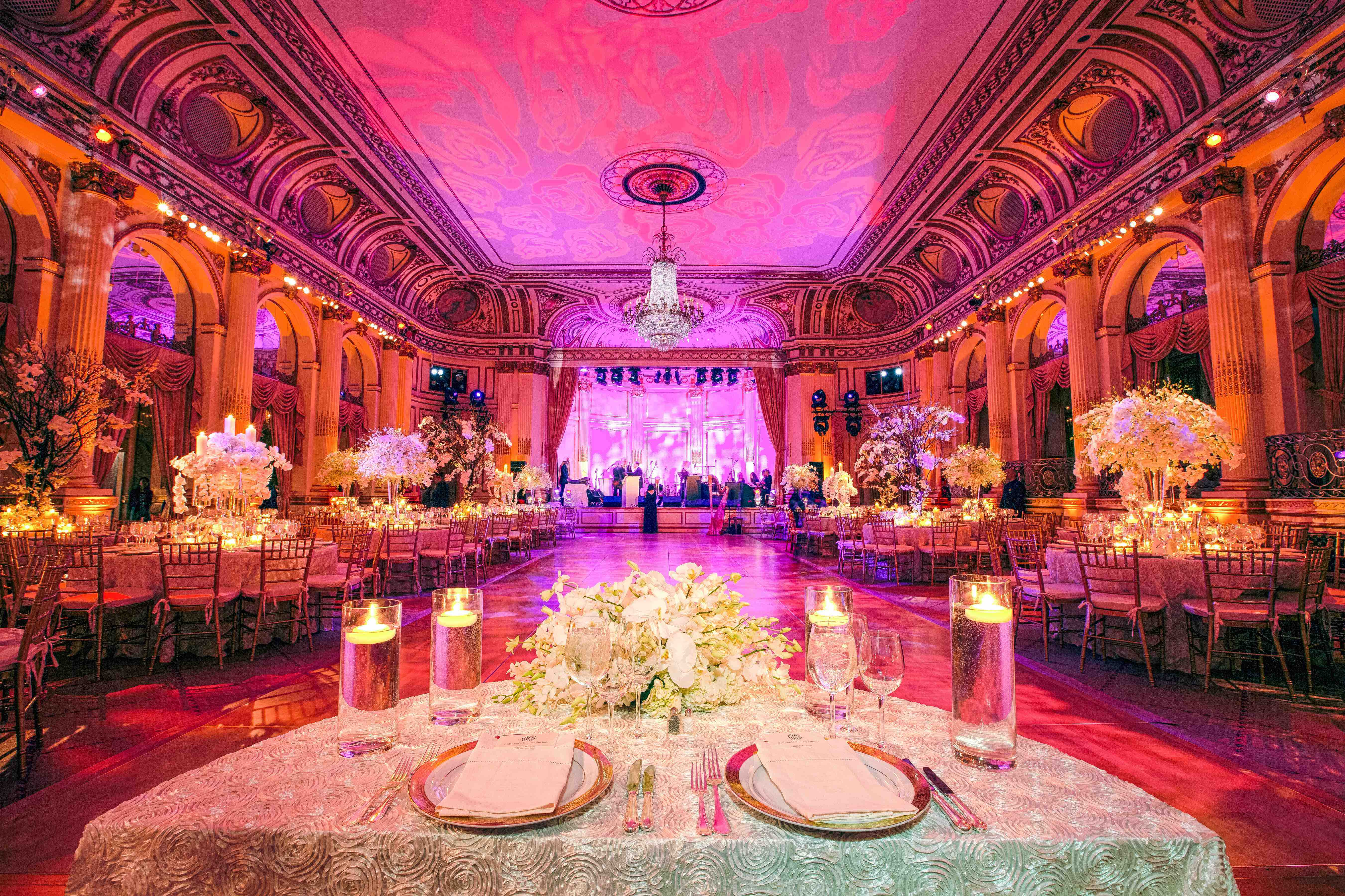 Fairy-Tale Ballroom Wedding in New York City - Inside Weddings