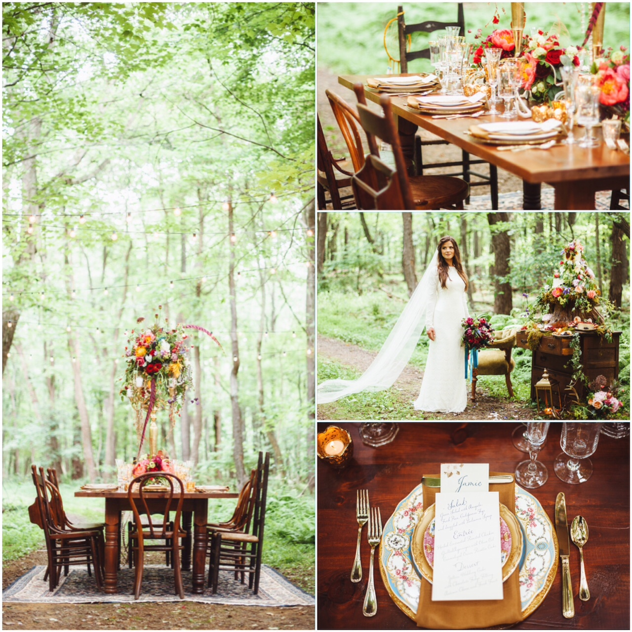 Wedding Ideas And Inspirations: Boho Wedding: Ideas For Nature-Inspired Celebrations