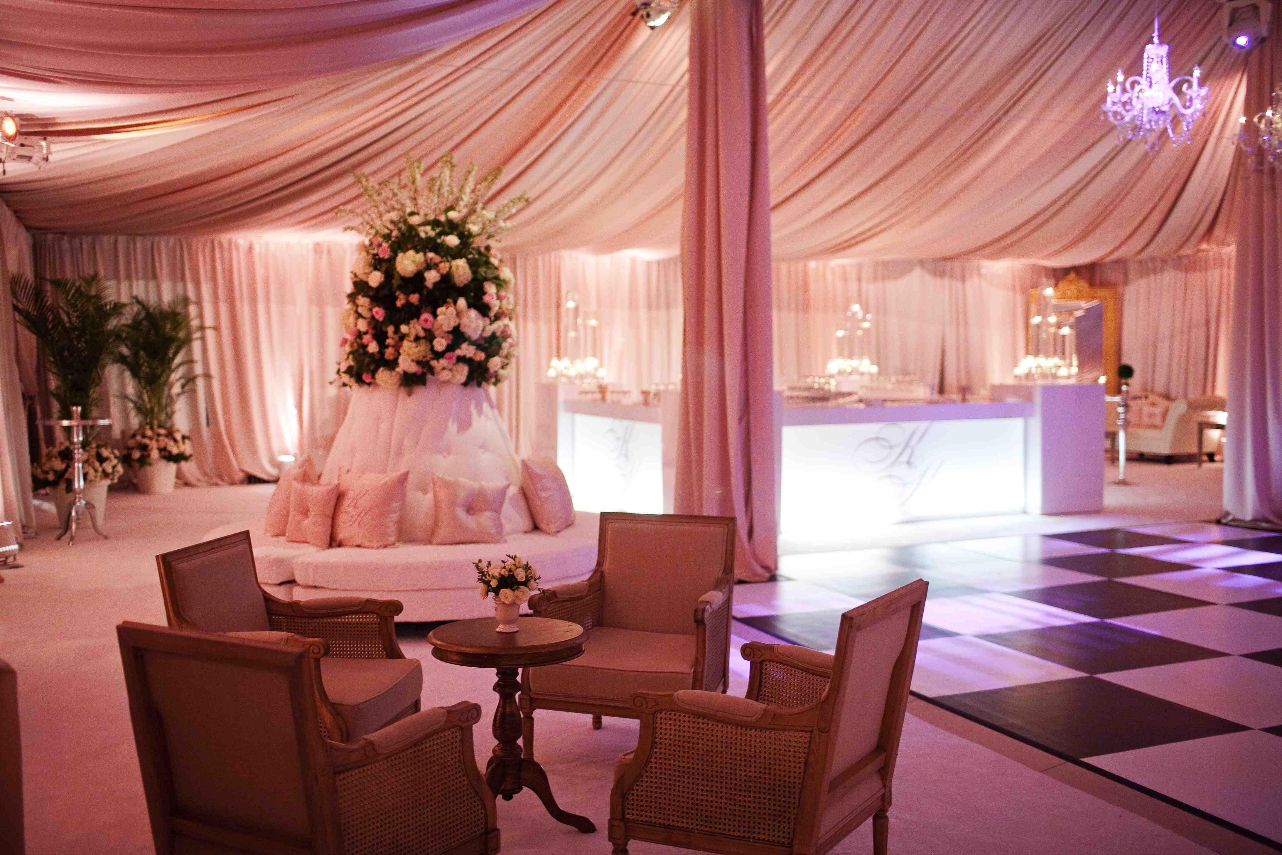 Checkered Dance Floor Wedding Ideas Inside Weddings
