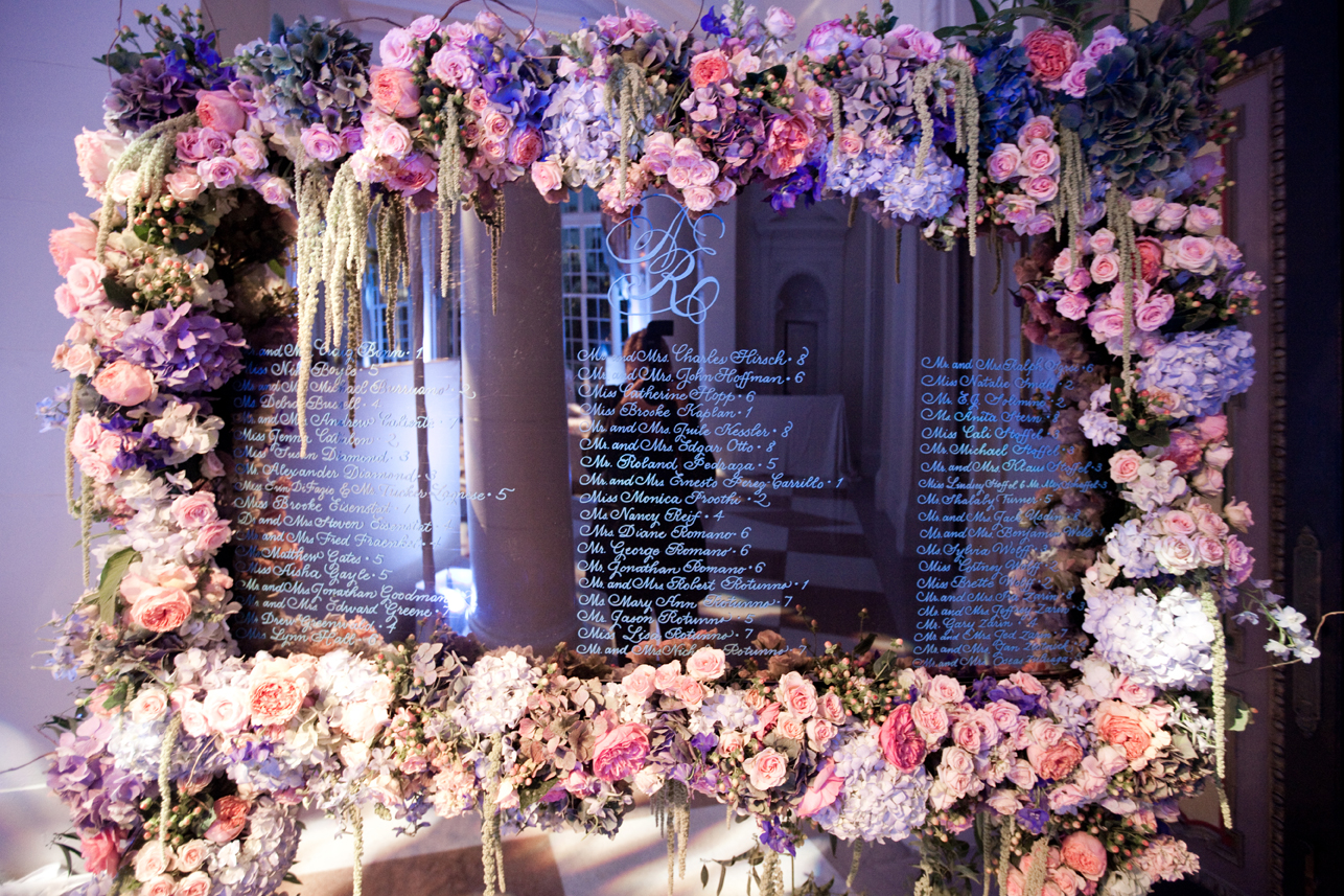 How To Use Mirrors In Your Wedding Design