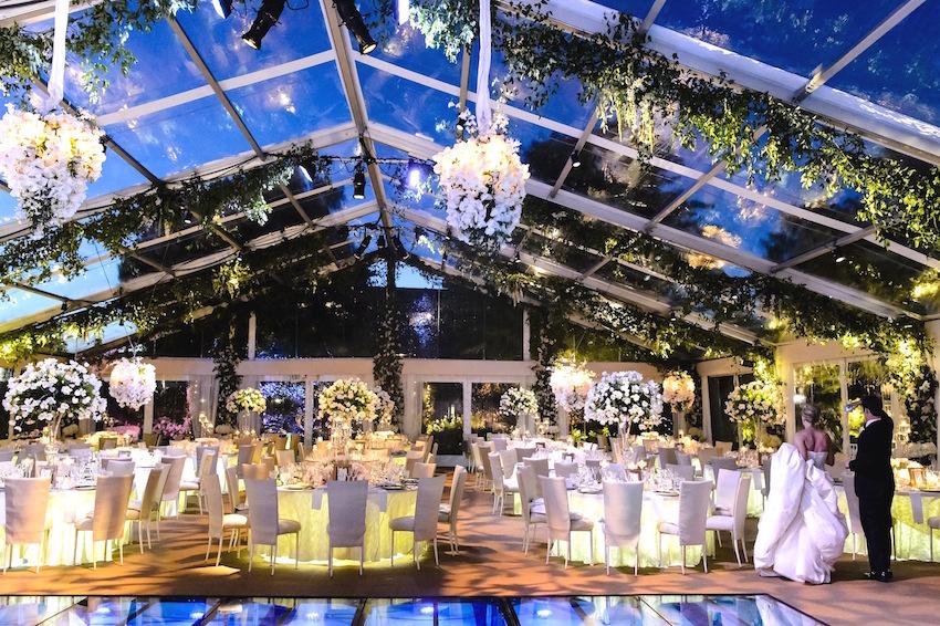 Luxury Wedding Ideas Chandeliers With Fresh Flowers