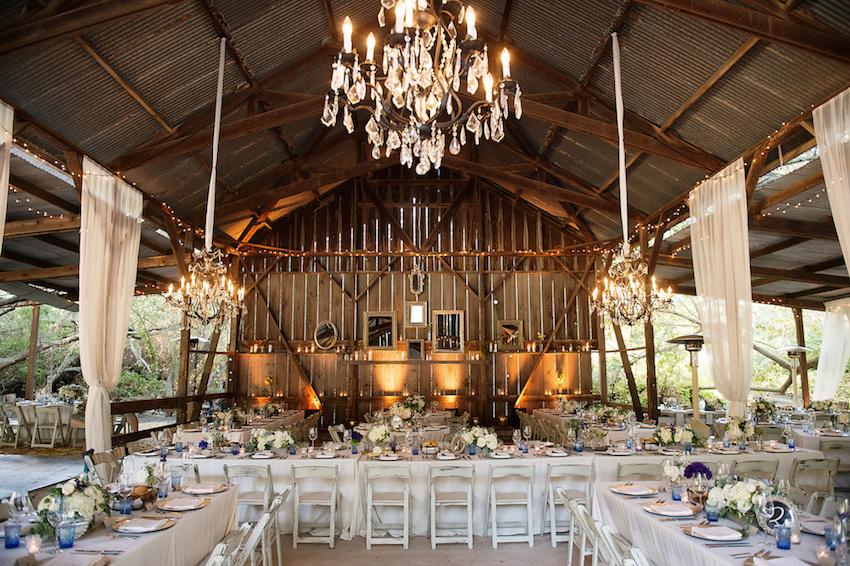 Melissa Egan rustic wedding reception