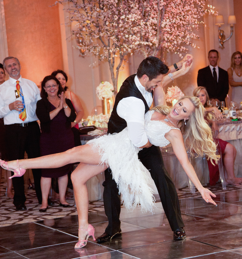 Tamra Barney and Eddie Judge first dance