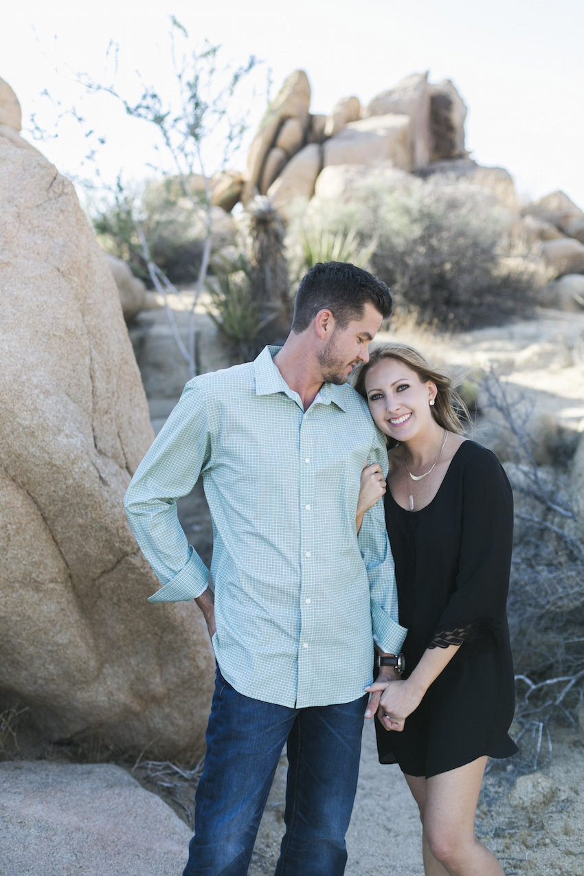 Joshua Tree National Park engagement session