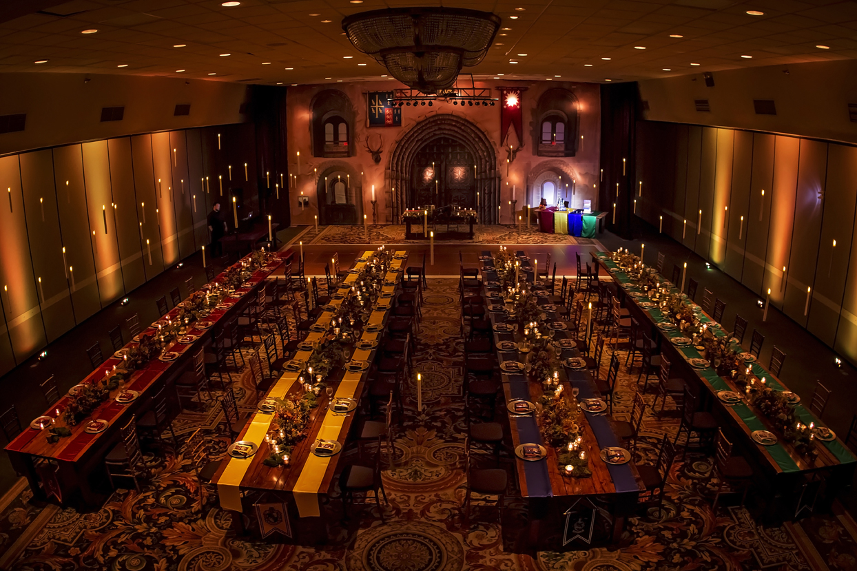 harry potter great hall wedding