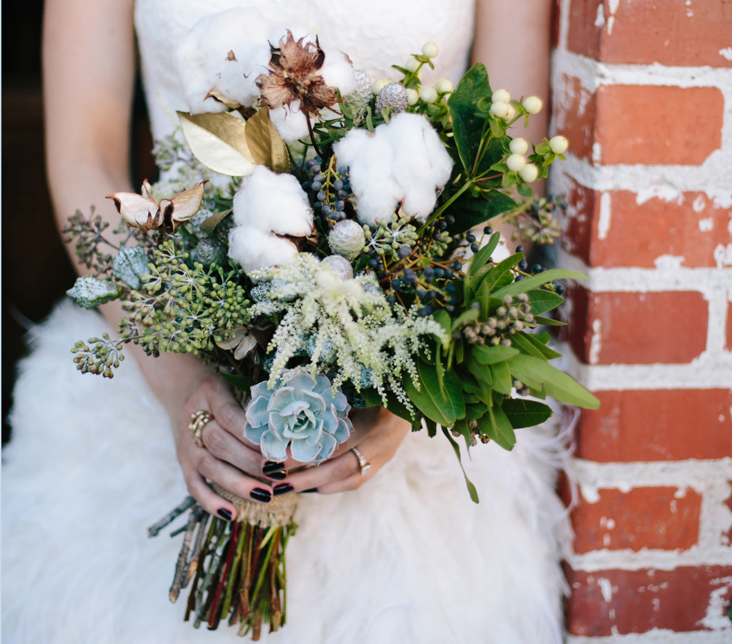 Wedding flowers 7 things to add to your bouquet inside weddings bouquet with gold leaves izmirmasajfo