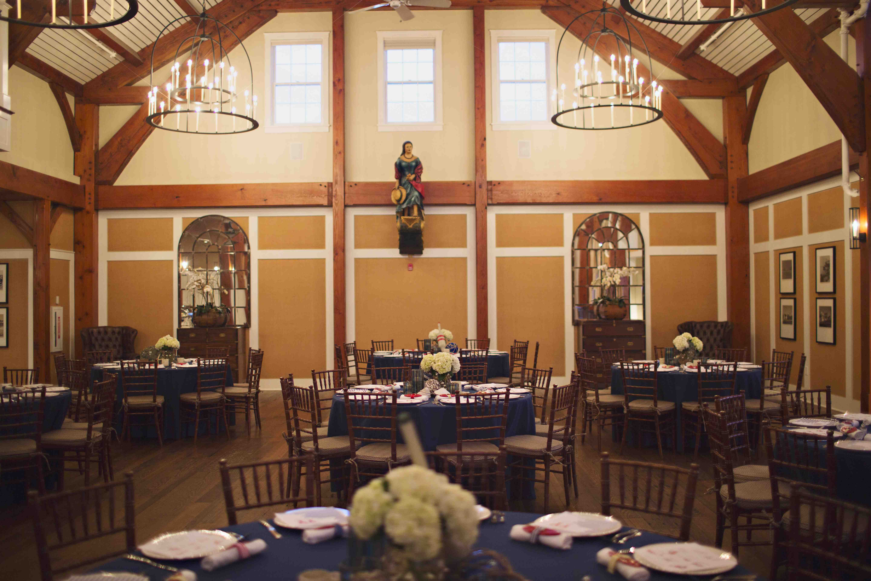 rustic dinner hall