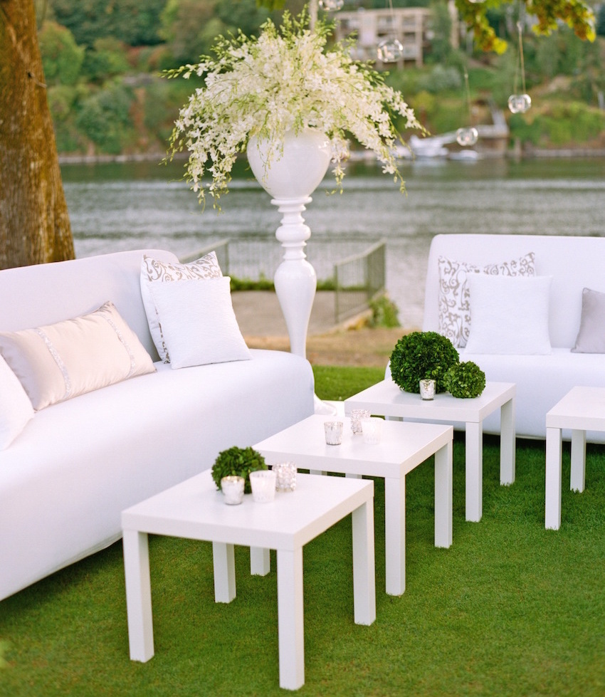 Awesome outdoor wedding lounge furniture pictures house for Outdoor furniture rental