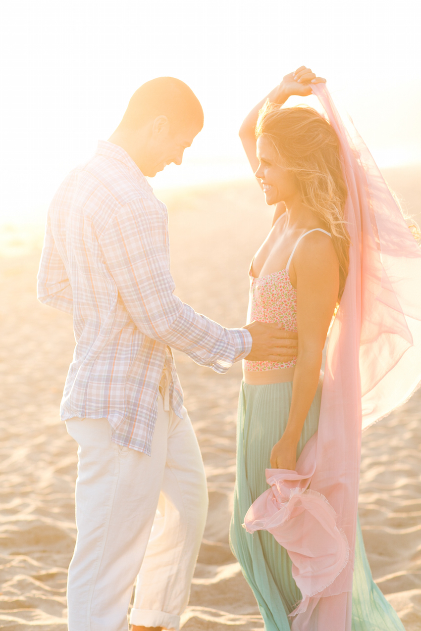 Beach engagement shoot Katrina Hodgson Brian Scott