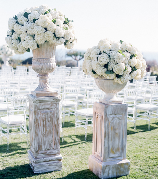 Beach Wedding Ceremony Michigan: Hydrangea Flower Arrangements For Your Wedding