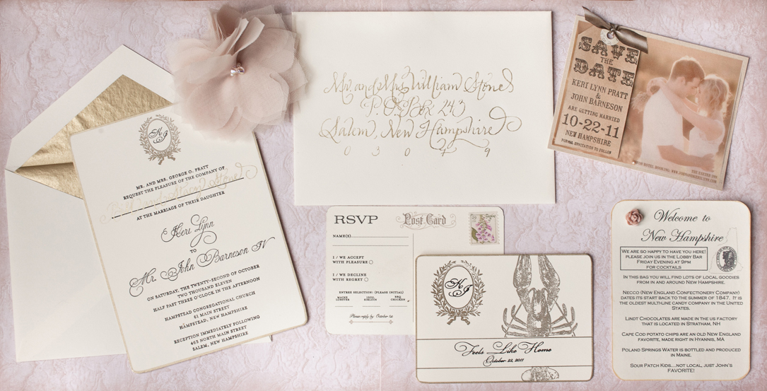 Rustic Wedding Invitations with Natural, Whimsical Details ...