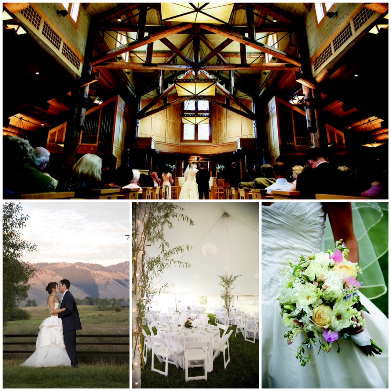 rustic western wedding