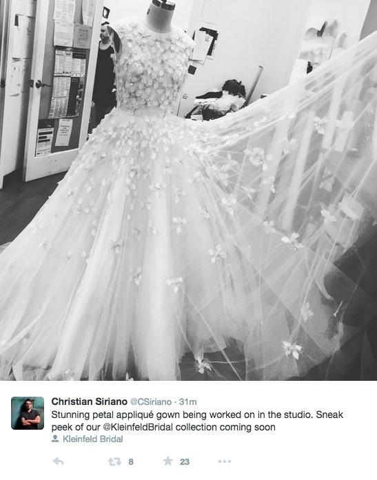 christian siriano bridal