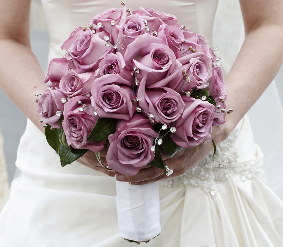 Wedding Flowers: How to Bling Out Your Bridal Bouquet - Inside Weddings