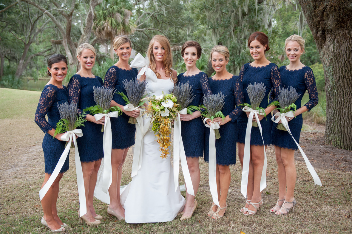 Fall wedding ideas bridesmaid dresses for the fall season blue lace dresses junglespirit Choice Image