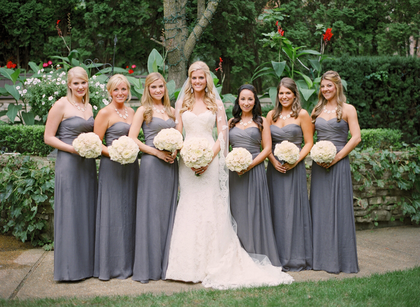Fall Wedding With Black Bridesmaid Dresses : Fall wedding ideas bridesmaid dresses for the season inside