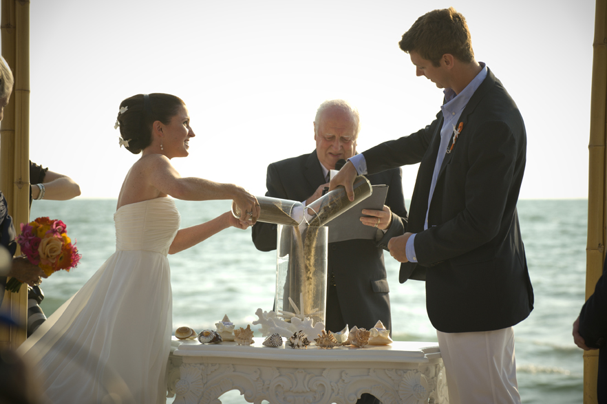 What It Is A Sand Ceremony Ritual Performed During The Wedding Service That Uses To Represent Union Of Spouses Be