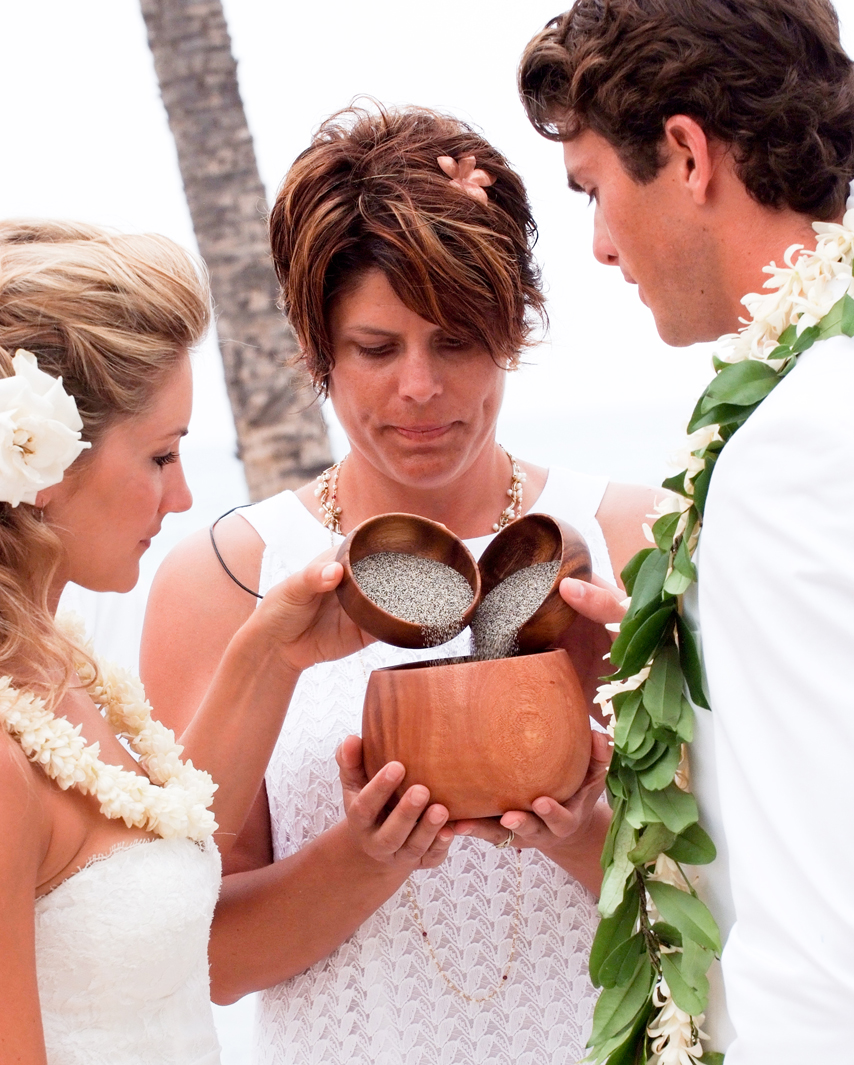 Wedding Ceremony Traditions All About The Sand