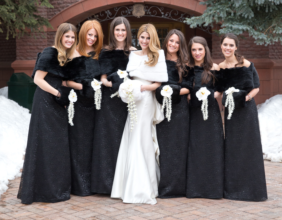 chic bridesmaid dresses