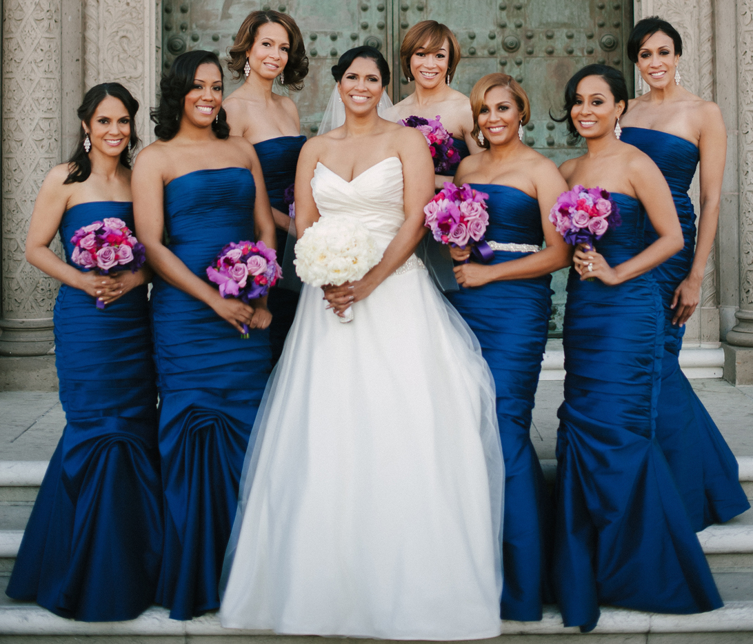 Bridesmaid Dresses For Winter Weddings - Inside Weddings
