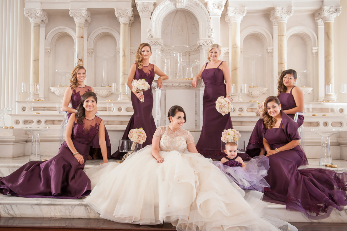Bridesmaid dresses for winter weddings inside weddings purple bridesmaid dresses ombrellifo Image collections