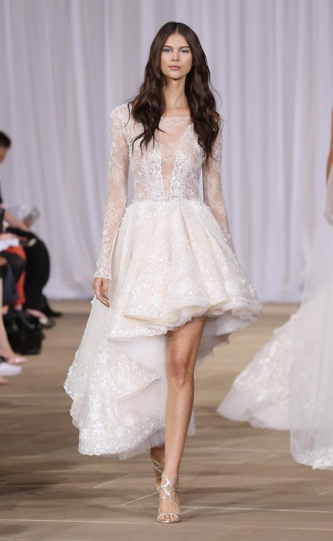 high low wedding dresses ines di santo high low wedding dress