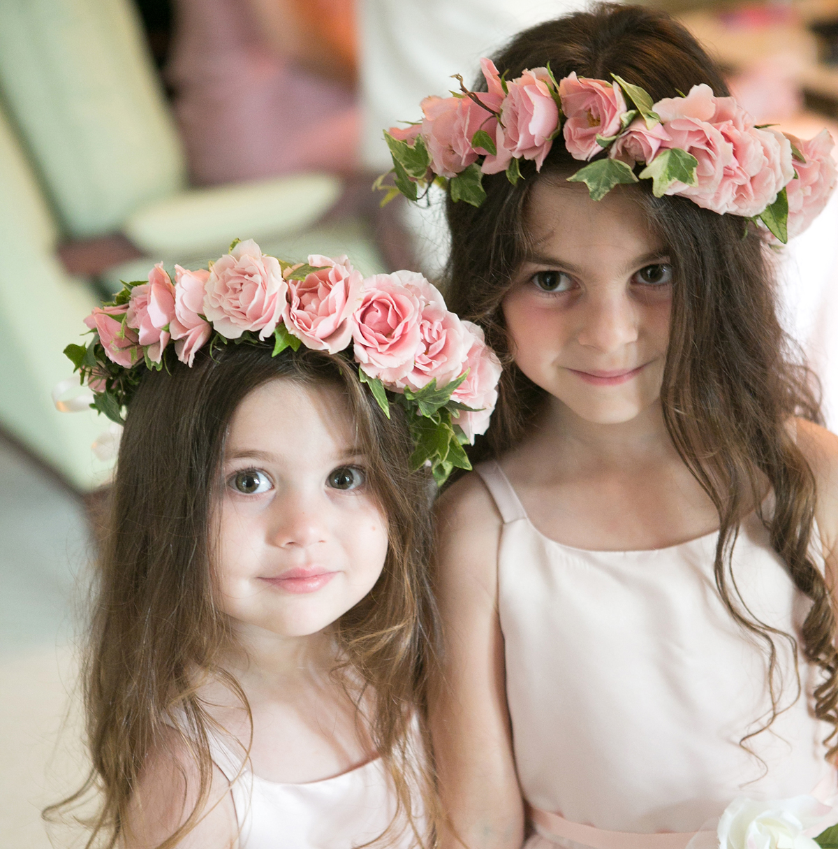 large flower crowns