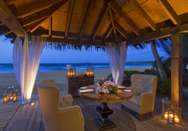 St Regis Bahia Beach Resort Romantic Dinner