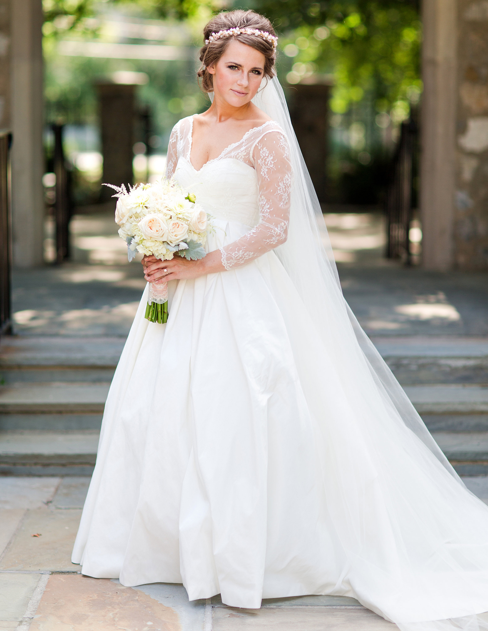 David Bridal Gowns Winter Wedding