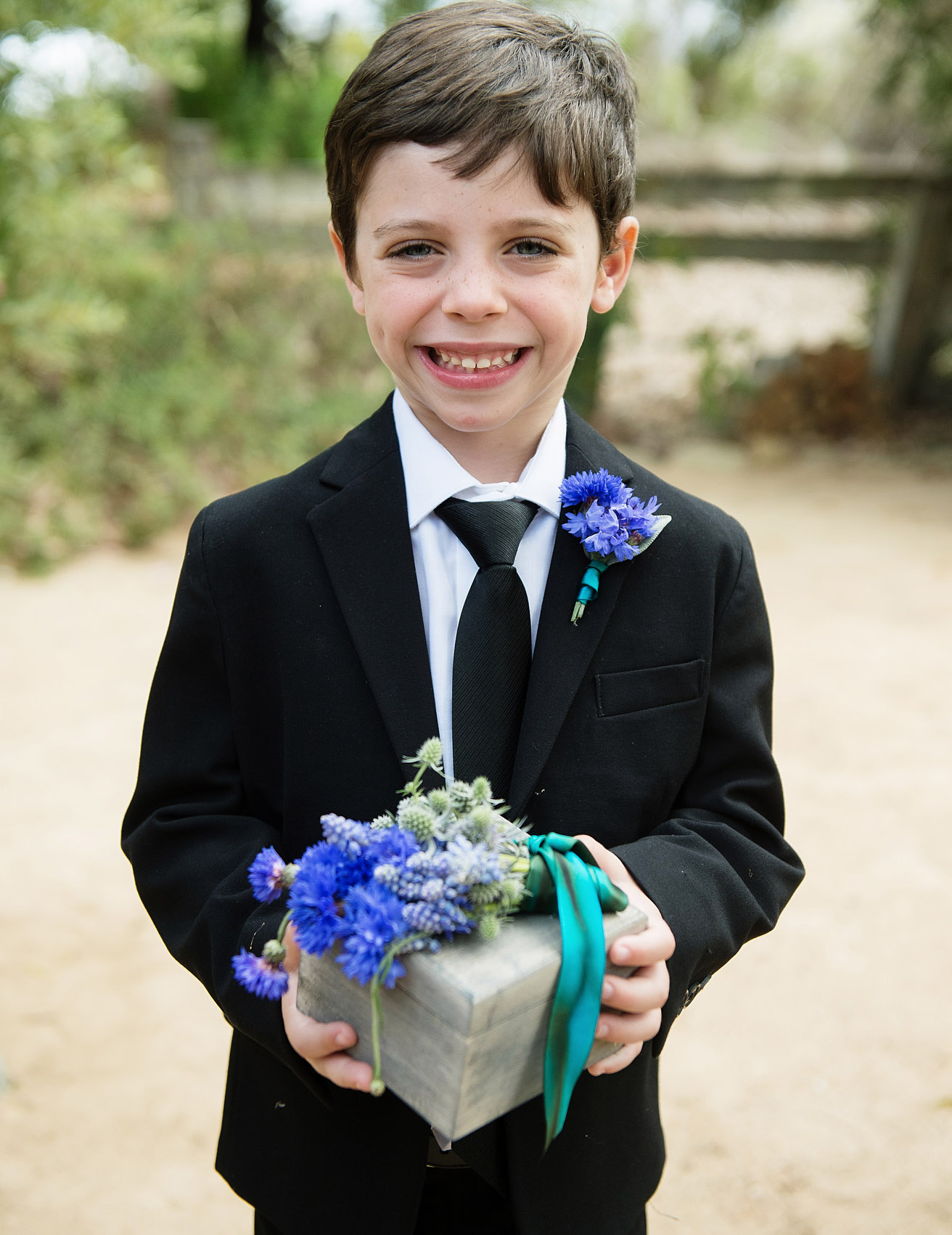 ring bearer that are anything but ordinary
