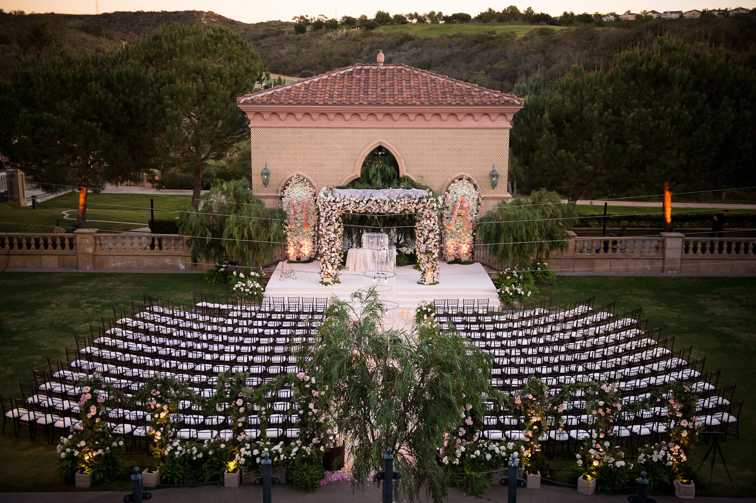 Grand Del Mar wedding ceremony