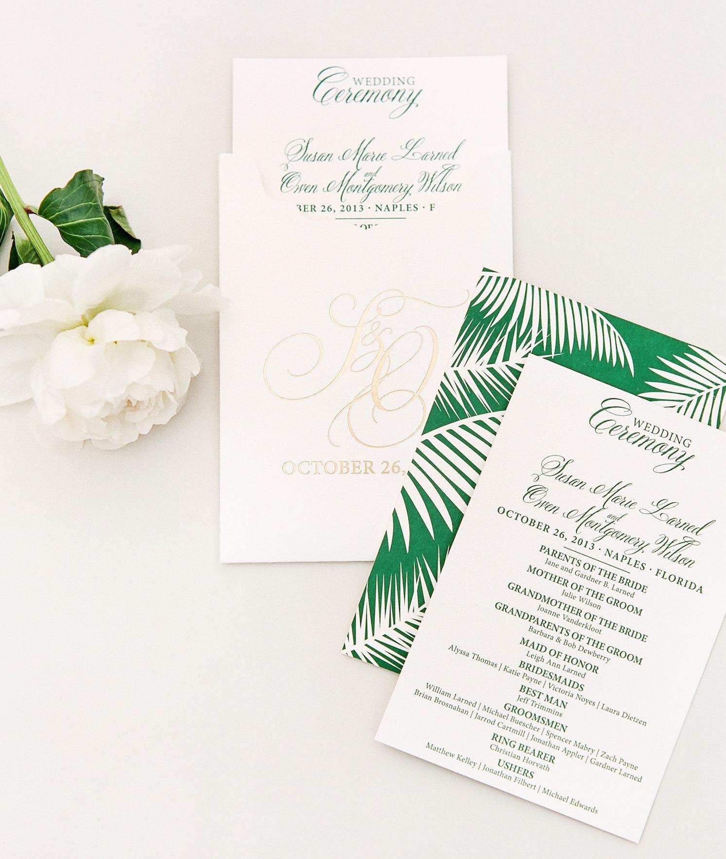 Green Wedding Theme: 28 Green Wedding Ideas - Inside Weddings