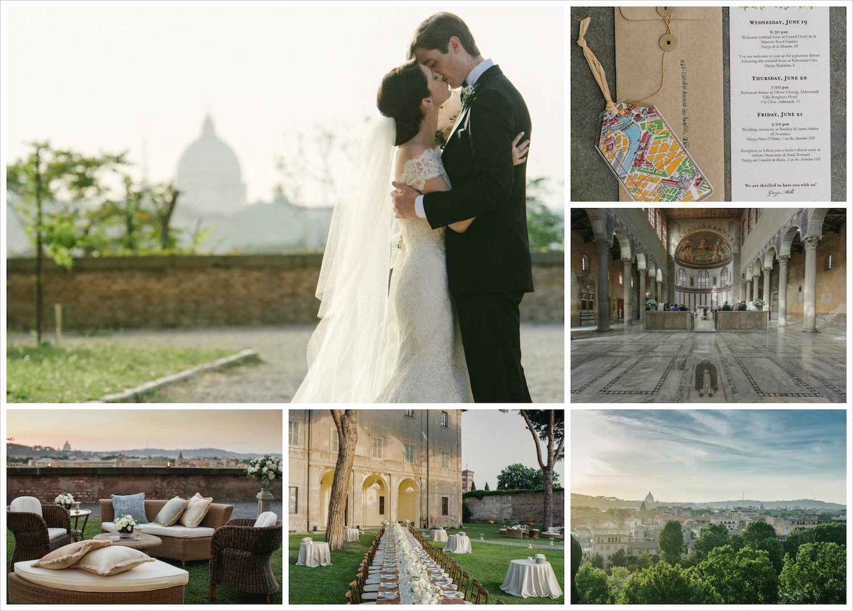 Rome, Italy destination wedding ideas