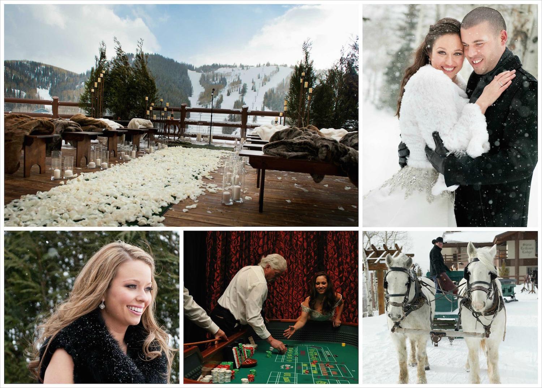 Utah winter destination wedding ideas