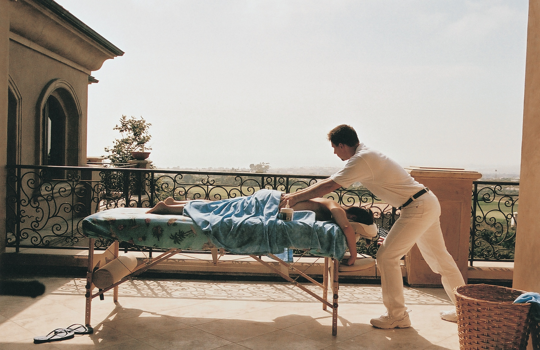 massage spa day bachelorette party