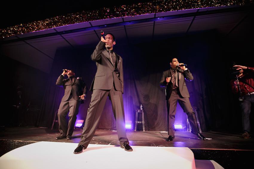 Boyz II Men concert bachelorette party