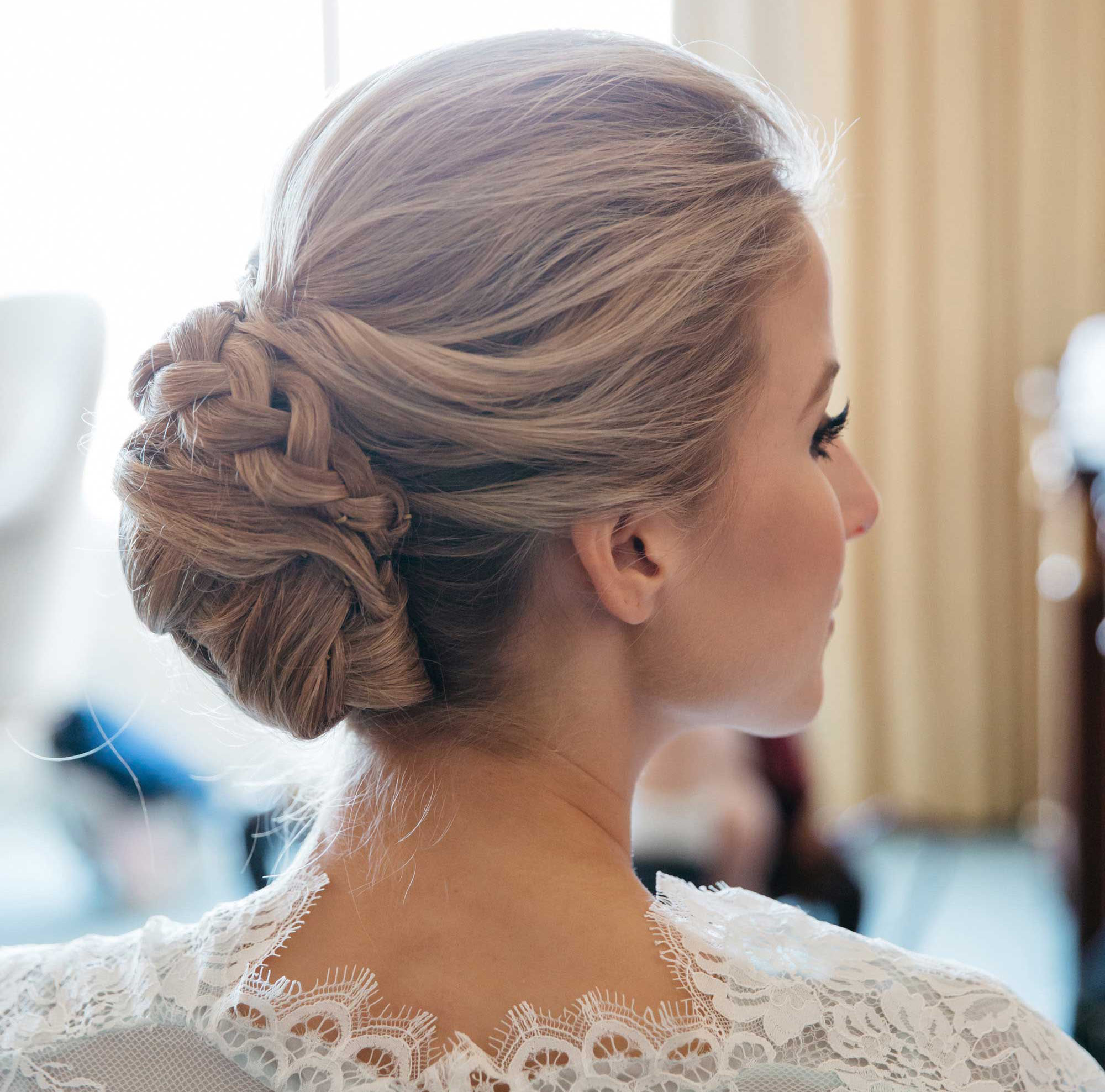 Awesome Braided Hairstyles 5 Ideas For Your Wedding Look Inside Weddings Short Hairstyles Gunalazisus