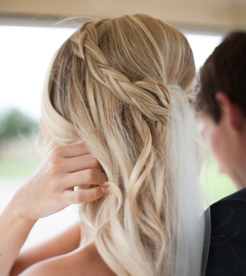 braided hairstyles: 5 ideas for your wedding look - inside weddings