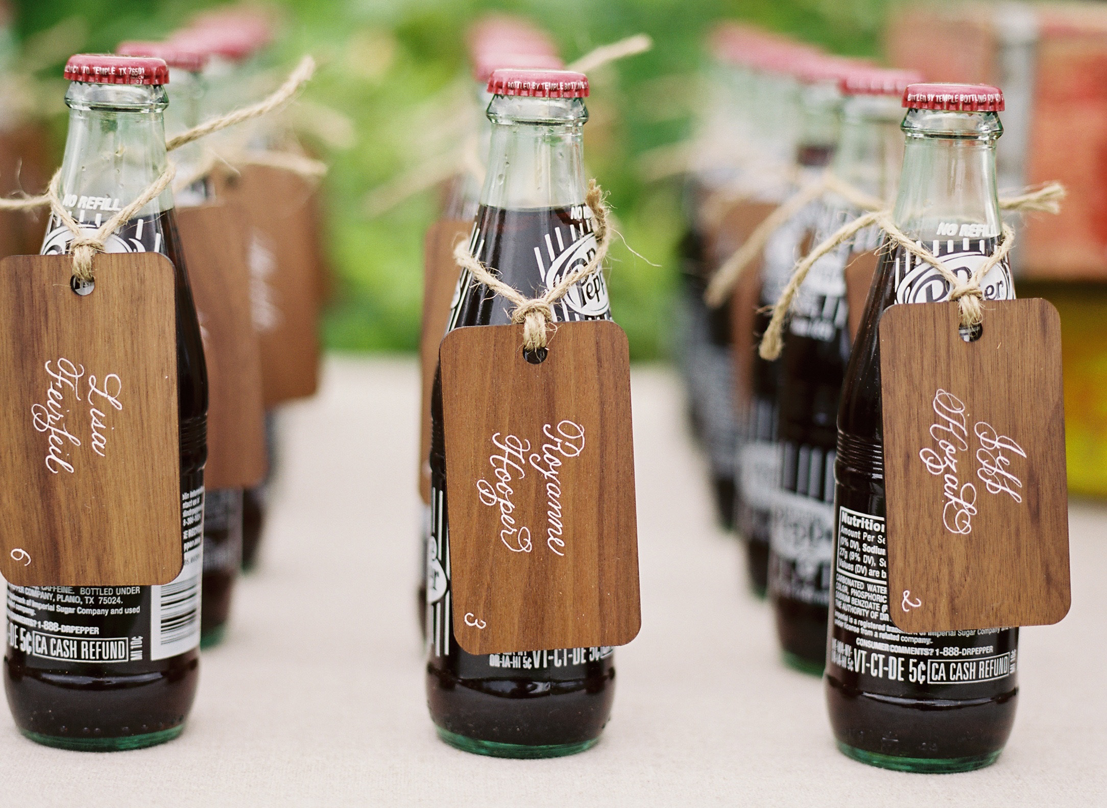 Eco-Friendly Wedding Ideas: Non-Paper Table Place Cards - Inside ...