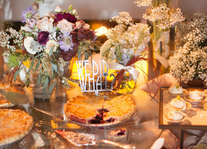 Wedding Pie Dessert Bar