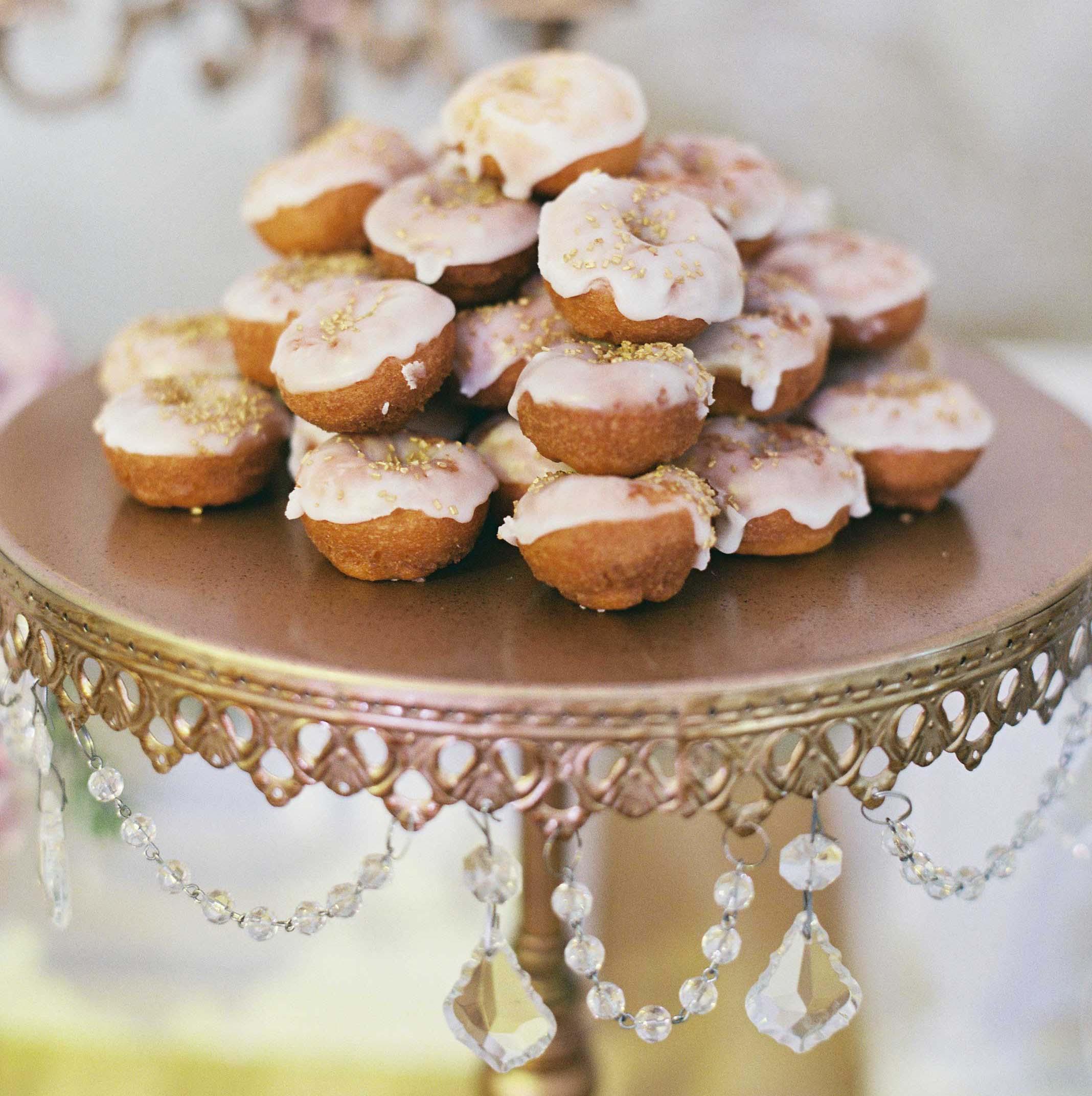 gourmet donuts wedding dessert bar