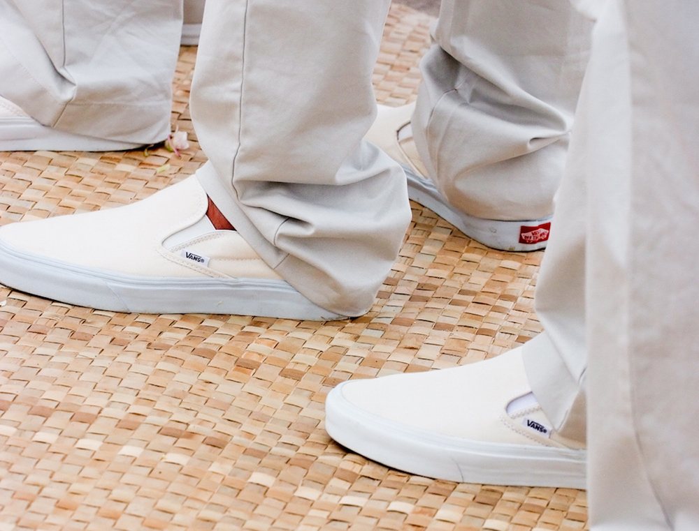 8a5aff386ec Make sure to also consider the location of your nuptials when selecting  footwear. For example