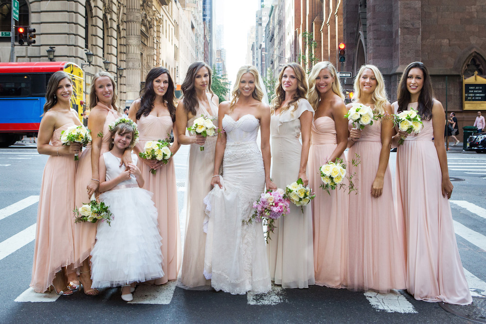 ac8045dcb3b Bridesmaid Dresses  Short Dresses vs. Long Gowns - Inside Weddings